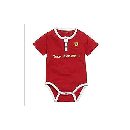 FERRARI Body bebé Team 1 Rojo Talla 2-4 Meses: Amazon.es: Coche y moto