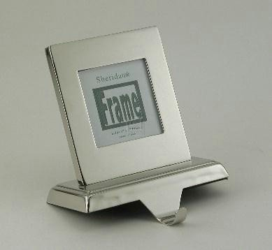 Amazoncom Photo Frame Stocking Holder Silver Plated Kitchen