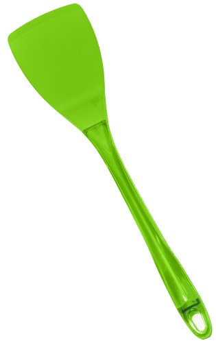 Chef Select Ergo Silicone Solid Spatula with San Handle, Green Chef Select Ergo Silicone