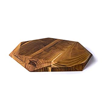 Image of Cutting Boards Edge of Belgravia Teak Star Wood Cutting Board Large