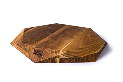 Edge of Belgravia Teak Star Wood Cutting Board Large (Board Star Cutting)