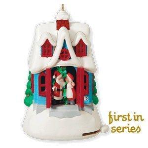 Hallmark Keepsake Ornament Kissmas Cottage 1st in Series 2010 (First Christmas 2010 Ornament)