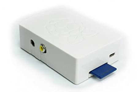 Raspberry PI Model B case color: white; mounted in 30 seconds not for Pi 2 or B+! made in europe no screws