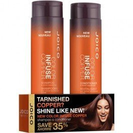Joico New Color Infused Shampoo & Conditioner Holiday Gift Set - 10 oz - For Rich Auburn and Ginger Shades!