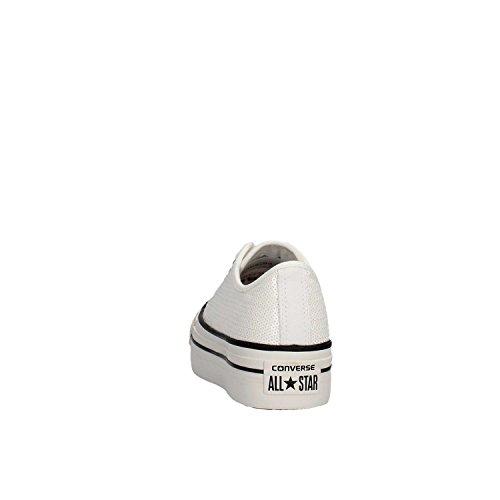 Converse Ctas 41 Bianche Sportive Bianco Ox Paillettes Platform Scarpe Converse Donna TaxndT6