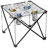 Digital Camo Small Camp Table - Steel Legs