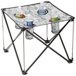 Digital Camo Small Camp Table - Steel Legs by Imzi home