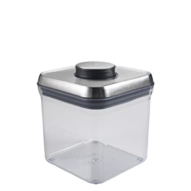 OXO SteeL POP 2-2/5-Quart Square Container