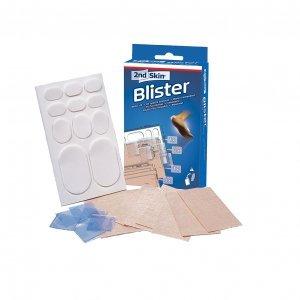 Spenco 2nd Skin Blister Kit Sports spezielle Sport Gel-Heftpflaster lindern den Druck bei Blasen fördern die Blasen-Heilung auch mehr sportlicher Belastung, wandern