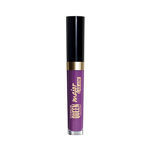 COVERGIRL Queen Collection Major Shade Matte Liquid Lipstick, Major Moment,0.11 Fl.oz (packaging may vary)