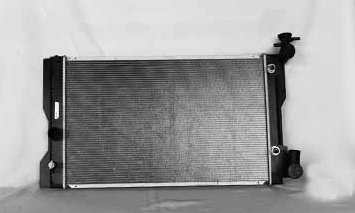 Amazon.com: TYC 13106 Toyota 1-Row Plastic Aluminum Replacement Radiator: Automotive