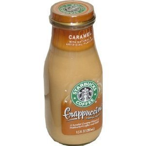 Starbucks Frappuccino, Caramel, 9.5 Oz. Glass Bottles / 12 PK