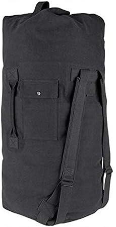 Farm Blue Zipper Military Travel Duffle Bag