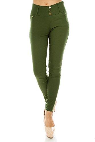 Green Womens Pants - 4
