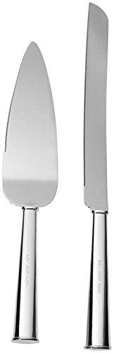 Point Spade (Kate Spade New York Women's Darling Point 2 Piece Dessert Set Silver Flatware)