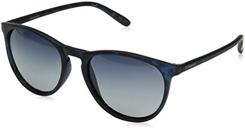Polaroid Sunglasses Pld6003n Round, Havana Blue/Blue Gradient Polarized, 54 - Glasses Polaroid
