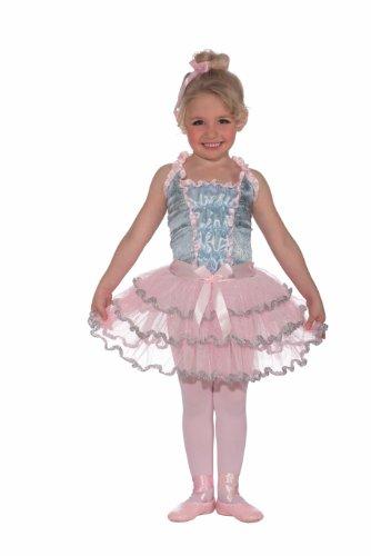 Toddler Ballerina Costumes Halloween (Forum Novelties Deluxe Ballerina Princess Child's Costume, Small)