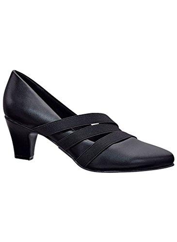 AngelSteps Women's Adult Natalie Pumps Dress 9 Medium US Women/Black ()
