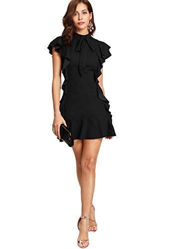 Valentine Black Short Cocktail Dresses