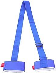 BESPORTBLE Snowboard Shoulder Strap, Ski Fixing Belt Adjustable Snowboard Carrier Sling Fixing Belt for Skiing