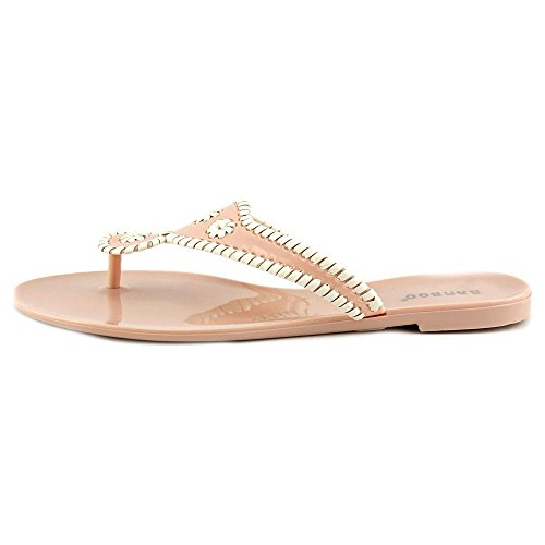 Flop 02 Flip Fashion Nude Sandals Jellys Bamboo Womens Lolli ZYEwxqwaU