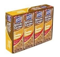 Lance Whole Grain Cheddar Cheese Sandwich Crackers, 12 oz (Best Whole Grain Chips)