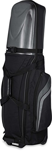 Bag Boy Golf 2018 T-10 Hard Top Travel Cover Black/Charcoal #BB97001 (Renewed)