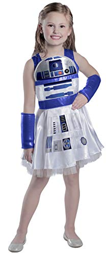 Princess Paradise Girls' Classic Star Wars R2d2 Dress,