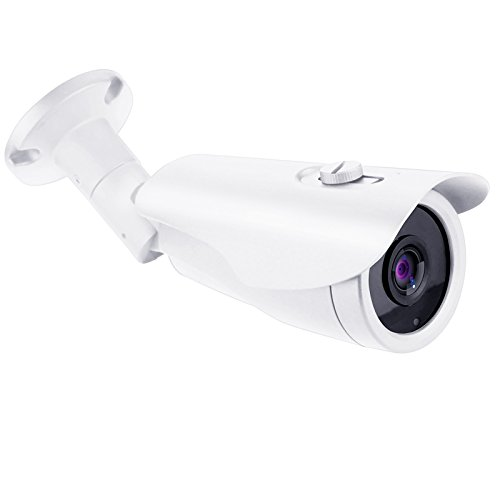HDView 5MP TVI / AHD Camera, 4MP CVI Camera, SONY Sensor, HD Megapixel Bullet Security Camera 3.6mm Lens Turbo Platinum Infrared Night Vision IR-CUT DNR UTC OSD