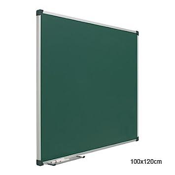Pizarra verde laminada 100x120 cm: Amazon.es: Oficina y ...