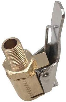Happygirr Reifenfüllnippel 6mm Messing Hebelstecker Ventilaufsatz Messing Reifenfüllnippel Ventilaufsatz Momentstecker Ventil Druckluft Reifen Auto