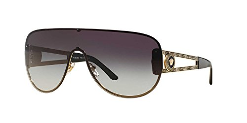 Versace VE2166 - 12528G Gold/Grey - Sunglasses Mens Versace
