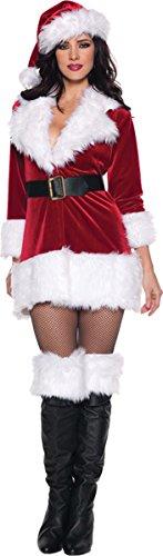 [Secret Santa Costume - X-Large - Dress Size 14-16] (A Homemade Costume)