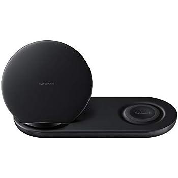 Samsung Wireless Charger Duo EP-N6100 Black - 7.5W - Renewed