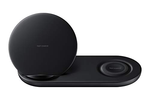 Samsung Wireless Charger Duo EP-N6100 Black - 7.5W - Renewed