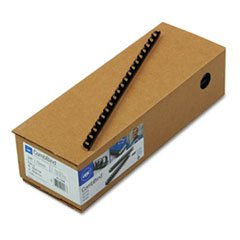 "GBC CombBind Spines, 3/8"" 55-Sheet Capacity, Navy Blue, 100 per Box (4011485)"