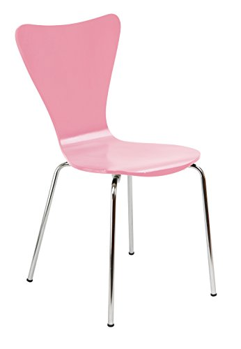 Legare LEGE-CHSM-110 Bent Plywood Chair Pink