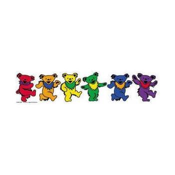 Amazon Com Grateful Dead Rainbow Dancing Bears