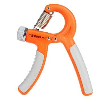 Cratos Adjustable Hand Grip Strengthener with Padded Gym Gloves