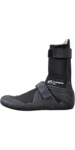 (Rip Curl Flashbomb 5mm Hid S/Toe Boots, 10, Black/Black)