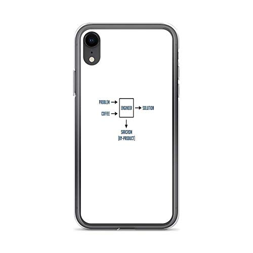 iPhone XR Case Clear Anti-Scratch Shock Absorption Engineering