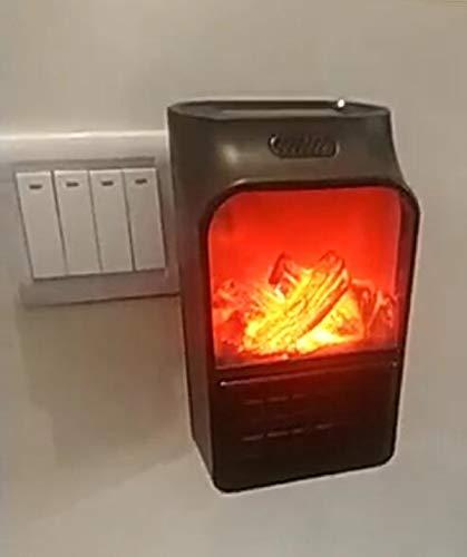 Tragbare und Leistungsstarke Heizl/üfter mit Thermokeramik f/ür die Steckdose Original Produkt aus TV-Werbung Portable Heater Mini Heizung Wei/ß,Fernbedienung