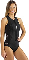 thermic lady is a wetsuit shaped like a one-piece swimsuit. Designed specifically for swimming, snorkeling and water sports in general, it allows great freedom of movement thanks to the special style and elasticity of the material. It is made...