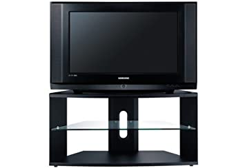 samsung tv on stand. samsung ws32z408 - 32\u0026quot; widescreen slimfit crt television with freeview (stand sold tv on stand s
