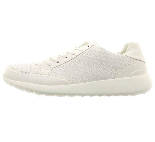 Shoes Bianco TELMO Bianco Ginnastica da a Reservoir Punte Rotonde Scarpe 6wqnxzHP