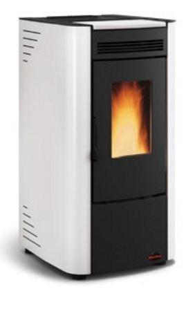 Estufa de pellets La Nordica Ketty 2,4-6,3 kW - Blanco/BI: Amazon.es: Bricolaje y herramientas