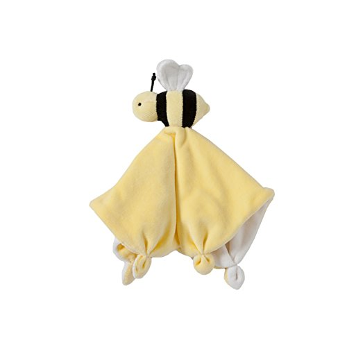 (Burt's Bees Baby - Lovey Plush, Hold Me Bee Soother Security Blanket, 100% Organic Cotton (Sunshine Yellow))