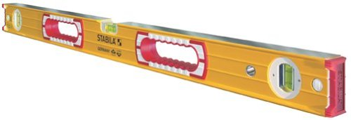 Stabila 37472-72-Inch builders level, High Strength Frame, Accuracy Certified Professional Level
