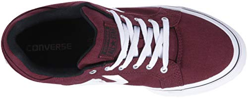White Converse Black Bordeaux Top Distrito Twill Deep Low Sneaker Men's El BzB7UA4p