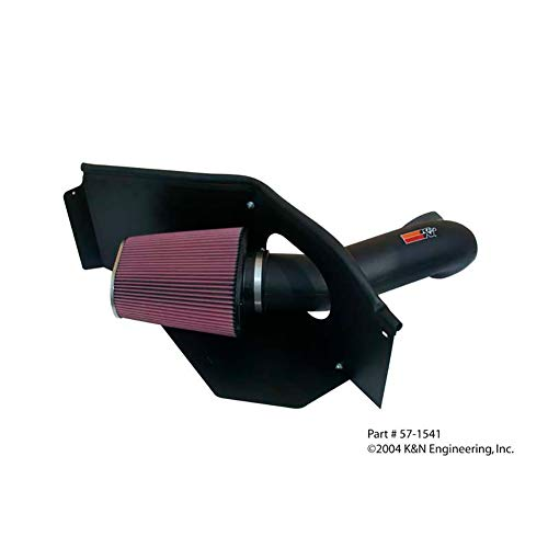 K&N Performance Cold Air Intake Kit 57-1542 with Lifetime Filter for Dodge Magnum/Challenger/Charger, Chrysler 300 5.7L/6.1L V8